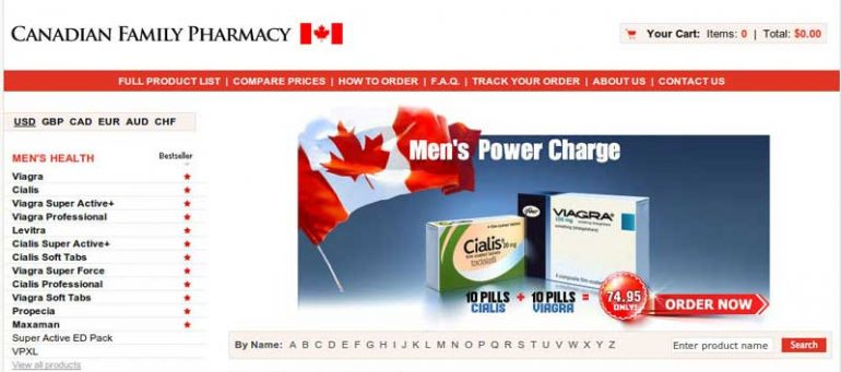 mycanadianfamilypharmacy.com