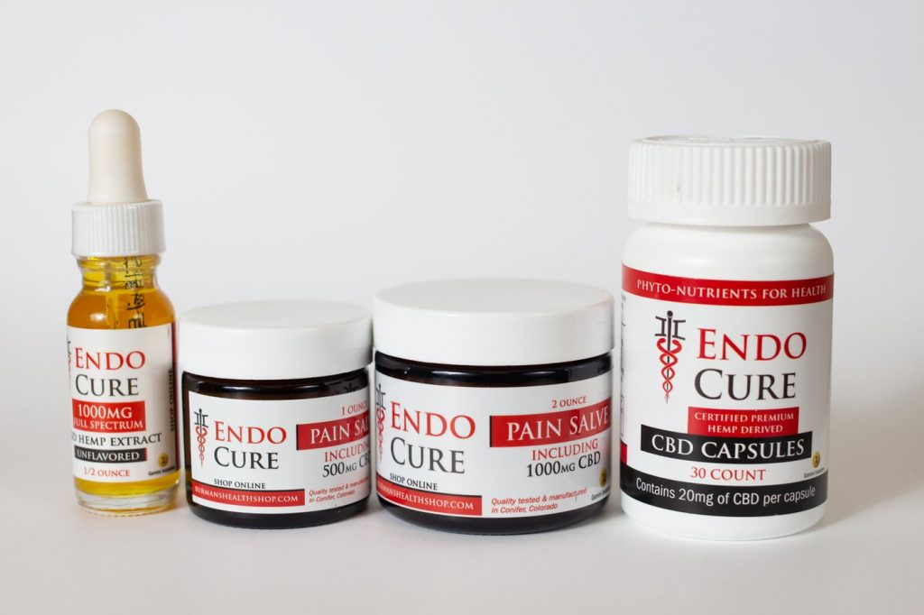 EndoCure CBD Products